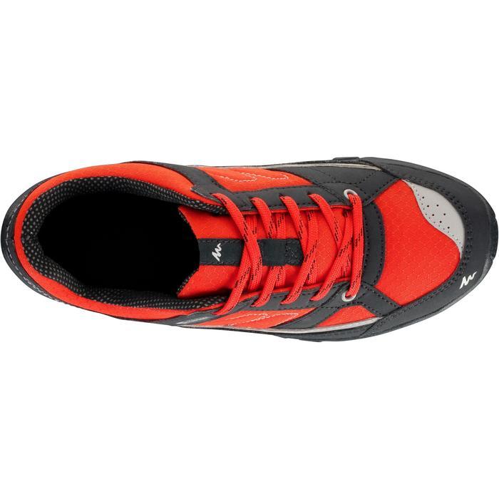 Chaussures de randonnée enfant NH100 imperméables Bleu Corail - 1125054