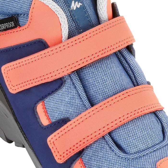 Chaussures de randonnée enfant NH500 Mid imperméables JR corail - 1125056