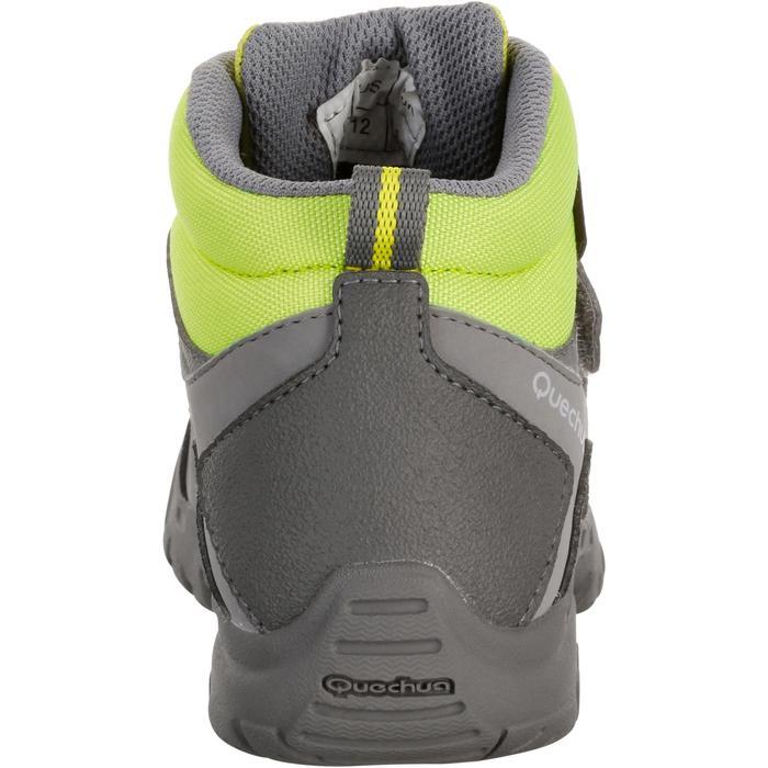 Chaussures de randonnée enfant NH500 Mid imperméables JR corail - 1125063