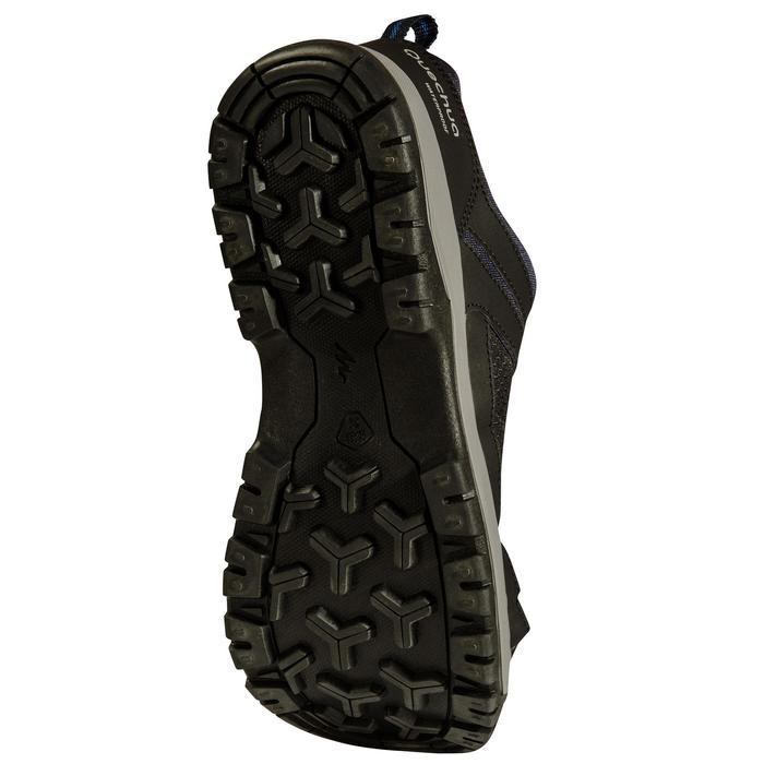 Chaussure de randonnée nature NH300 imperméable noire homme - 1125067