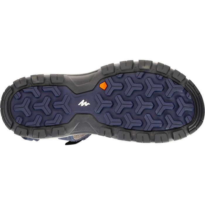 NH120 men's country walking shoes – navy blue