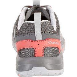 Women's NH500 Fresh country walking boots- Coral Grey