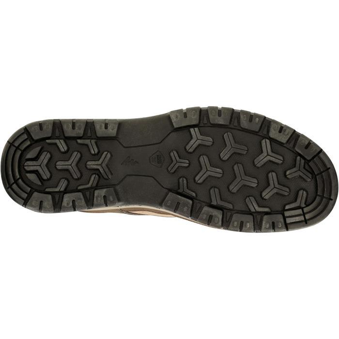 Chaussure de randonnée nature NH300 imperméable noire homme - 1125089