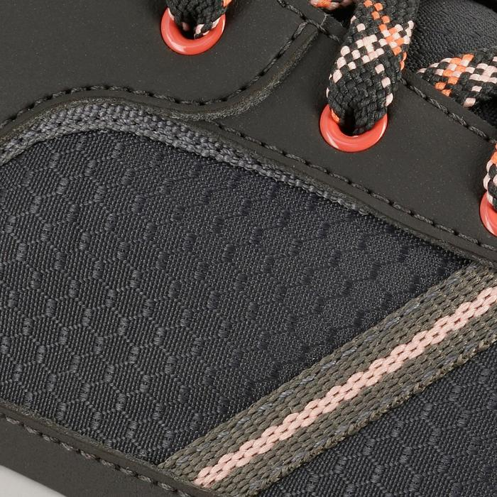 Chaussure de randonnée nature NH300 imperméable noire femme - 1125099