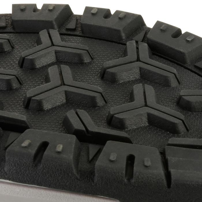 Chaussure de randonnée nature NH300 imperméable noire femme - 1125115