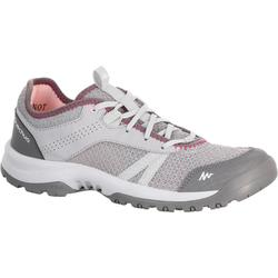 Chaussures de randonnée Nature femme Arpenaz 100 Fresh grise rose