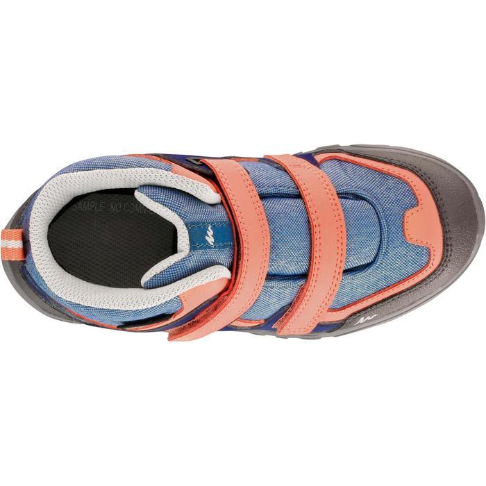 Chaussures de randonnée enfant NH500 Mid imperméables JR corail - 1125134