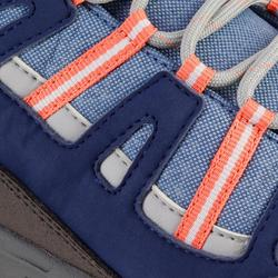 青少年中筒防水健行運動鞋 NH500 JR Mid - 珊瑚色
