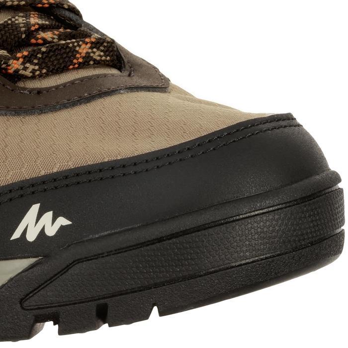 Chaussure de randonnée nature NH300 imperméable noire homme - 1125164
