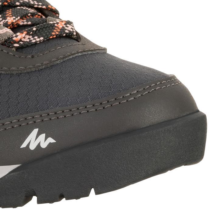 Chaussure de randonnée nature NH300 imperméable noire femme - 1125165