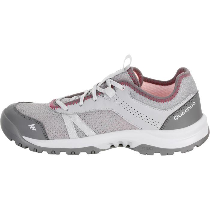 Chaussure de randonnée nature NH100 fresh gris rose femme