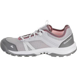 Women's NH100 Fresh Country Walking Shoes - Grey