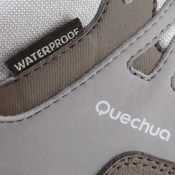 Chaussures de randonnée enfant NH500 Mid imperméables JR corail - 1125176