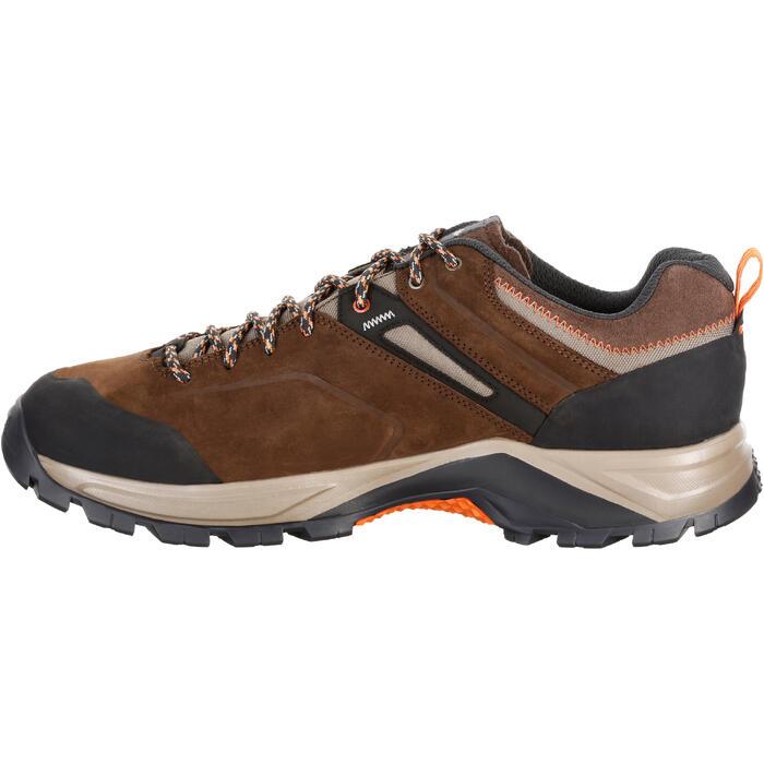 Botas de senderismo montaña hombre MH500 impermeable marrón