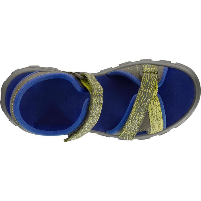 Sandales de randonnée enfant NH100 JR bleu