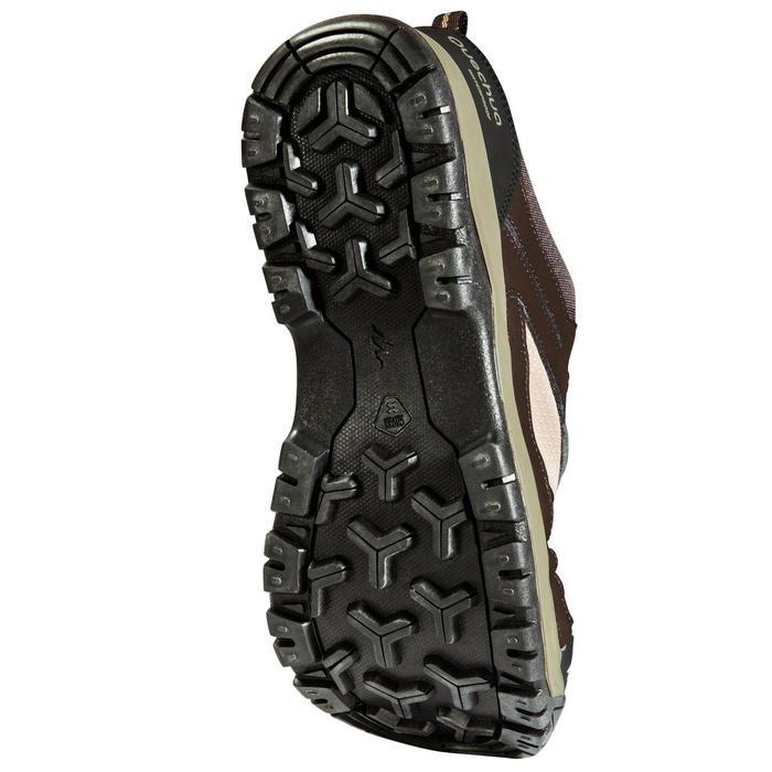 Chaussure de randonnée nature NH300 imperméable noire homme - 1125185