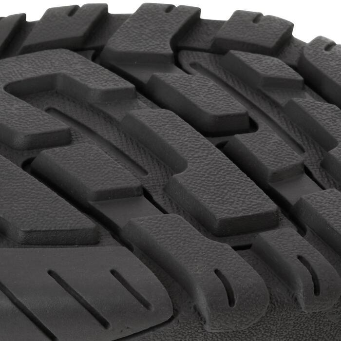 Chaussures de randonnée enfant NH100 imperméables Bleu Corail - 1125189
