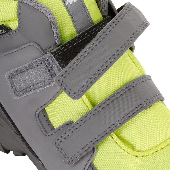 Chaussures de randonnée enfant NH500 Mid imperméables JR corail - 1125191