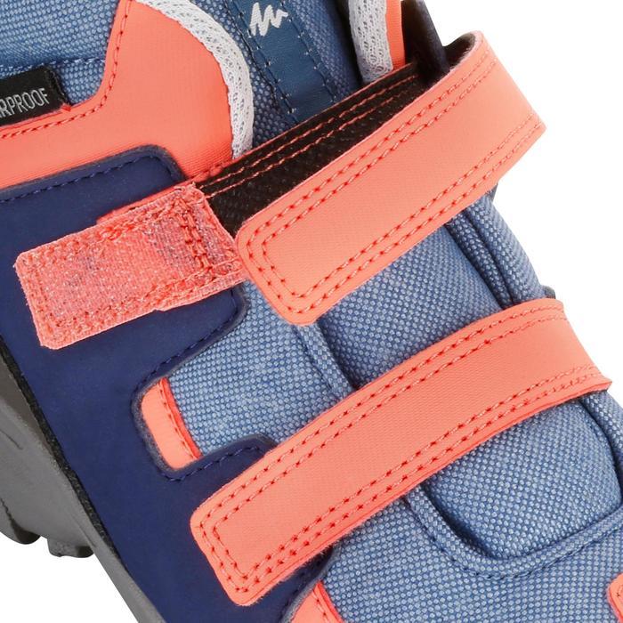 Chaussures de randonnée enfant NH500 Mid imperméables JR corail - 1125197