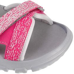 Sandales de randonnée enfant MH100 JR roses