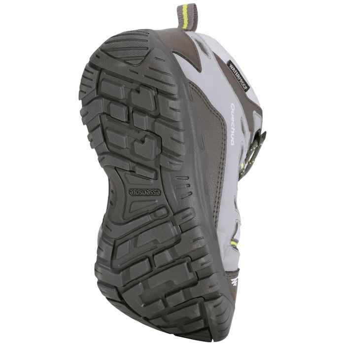 Chaussures de randonnée enfant NH500 Mid imperméables JR corail - 1125209