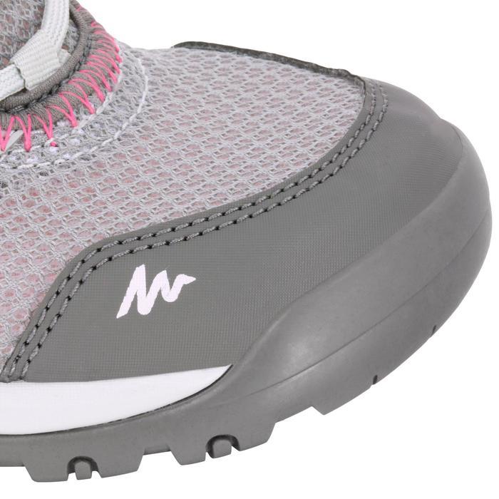 Wandelschoenen voor dames Arpenaz 100 Fresh grijs/roze