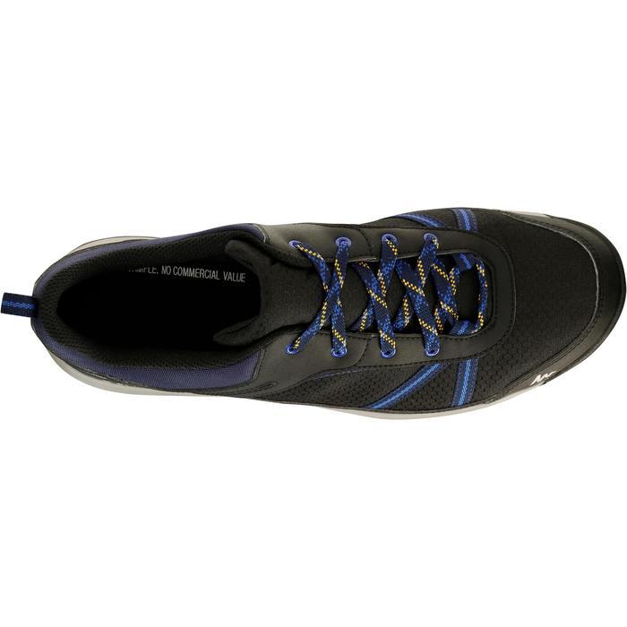 Chaussure de randonnée nature NH300 imperméable noire homme - 1125216