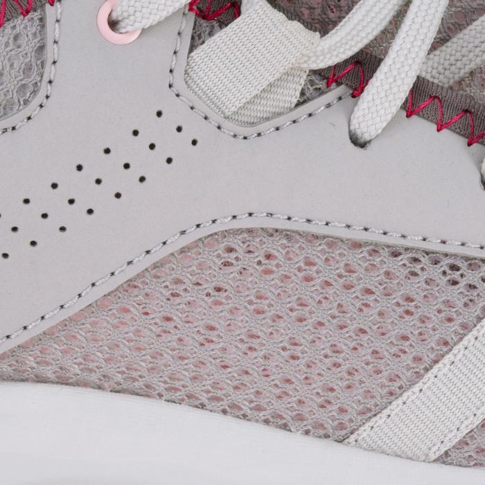 Wandelschoenen voor dames NH100 Fresh grijs/roze