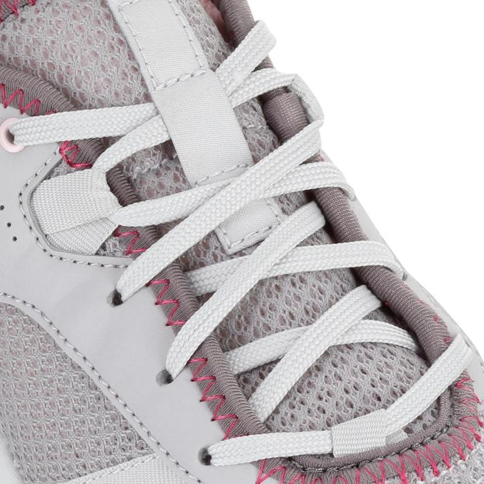 Wanderschuhe NH100 Fresh Damen grau/rosa