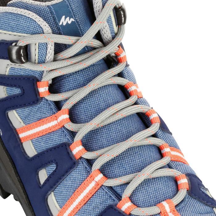Chaussures de randonnée enfant NH500 Mid imperméables JR corail - 1125271
