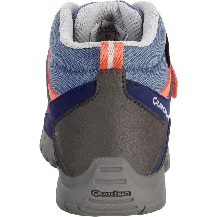 Chaussures de randonnée enfant NH500 Mid imperméables JR corail - 1125276
