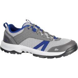 Arpenaz 100 Fresh 男士健行運動靴 - 藍色 灰色