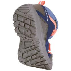 兒童中筒防水健行運動鞋 NH500 - 珊瑚色