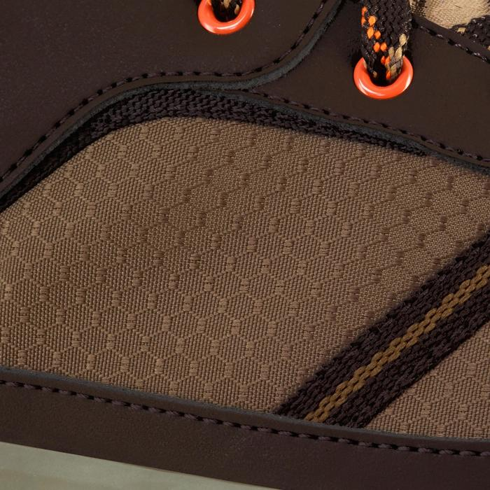 Chaussure de randonnée nature NH300 imperméable noire homme - 1125291