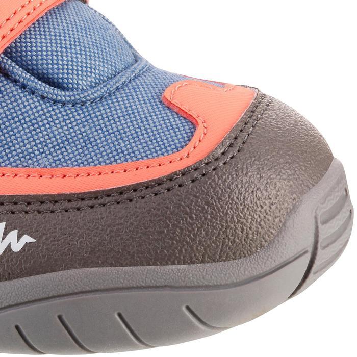 Botas de senderismo niños NH500 Mid impermeables KID Rojo coral