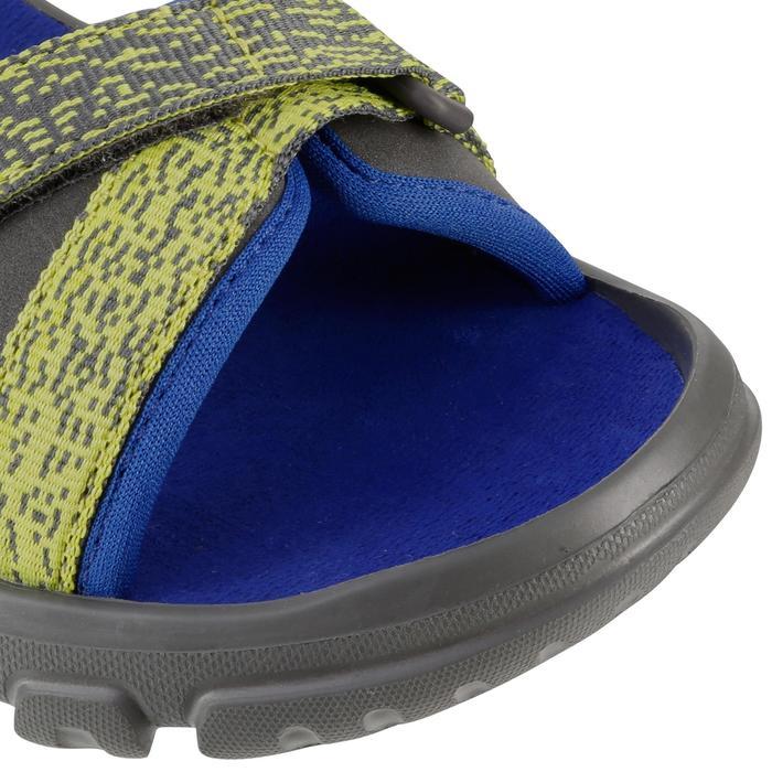 兒童款健行涼鞋MH100-藍色