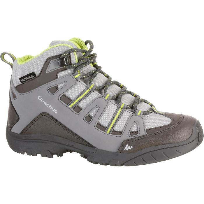 Chaussures de randonnée enfant NH500 Mid imperméables JR corail - 1125296
