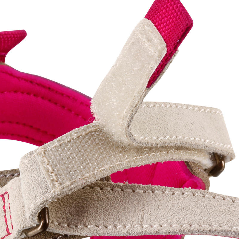 Sandalias de Excursión Arpenaz 120 mujer Beige