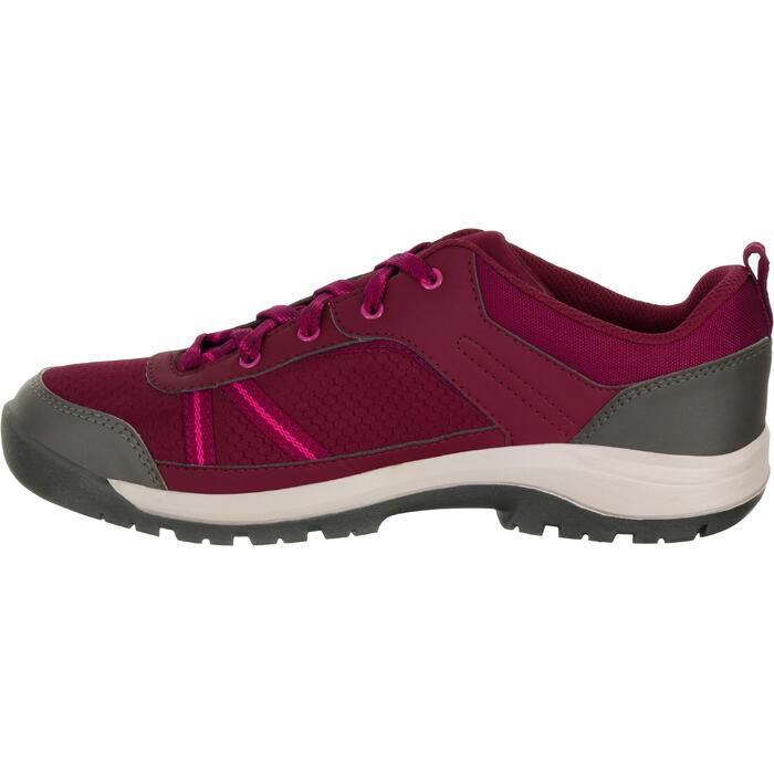 Chaussure de randonnée nature NH300 imperméable noire femme - 1125306