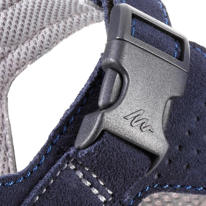 皮革行山涼鞋 - NH120 - 深藍色 - 男裝