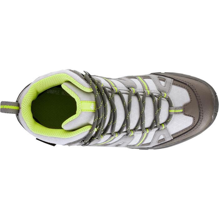 Chaussures de randonnée enfant NH500 Mid imperméables JR corail - 1125312