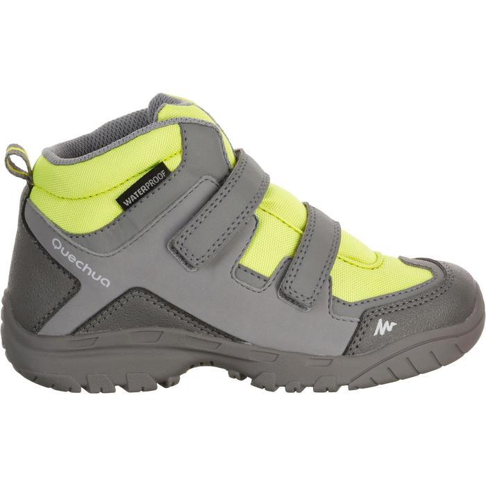 Chaussures de randonnée enfant NH500 Mid imperméables JR corail - 1125314