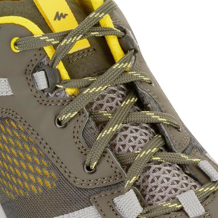 NH500 Fresh 男款自然健行運動鞋 - 灰色黃色