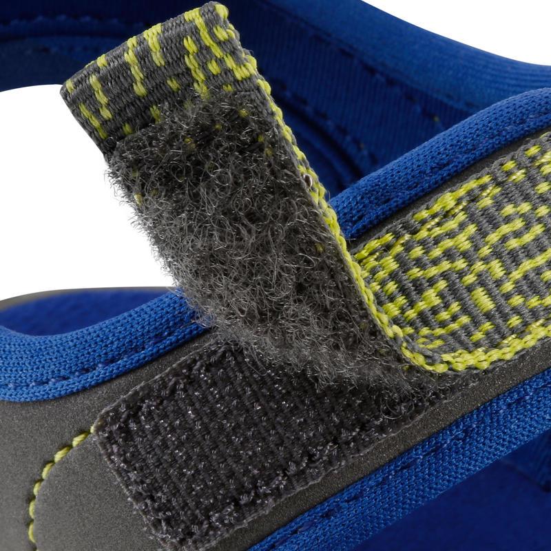 Sandales de randonnée enfant MH100 JR bleues