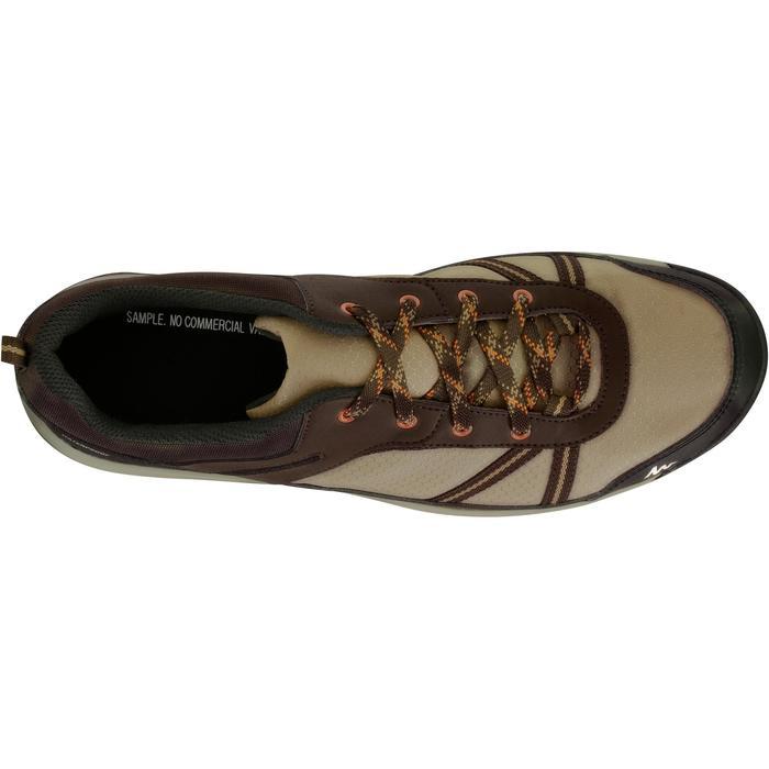 Chaussure de randonnée nature NH300 imperméable noire homme - 1125332