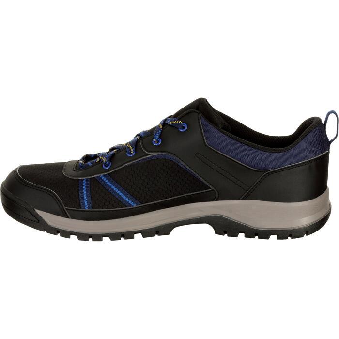 Chaussure de randonnée nature NH300 imperméable noire homme - 1125338