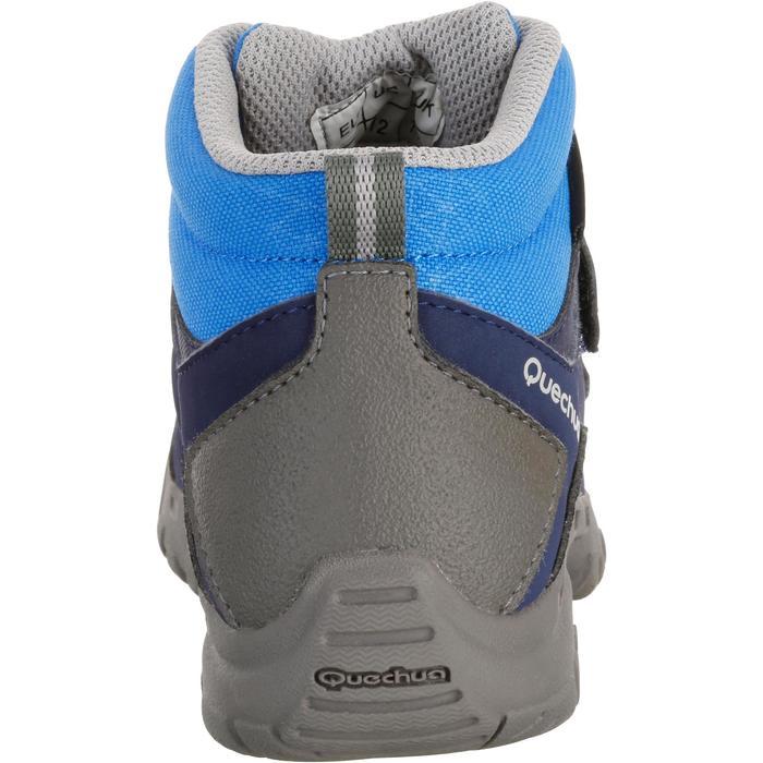 Chaussures de randonnée enfant NH500 Mid imperméables JR corail - 1125349
