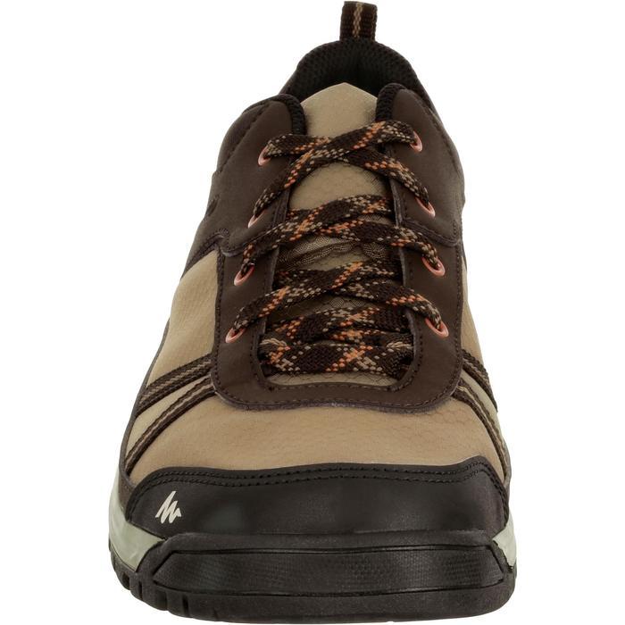 Chaussure de randonnée nature NH300 imperméable noire homme - 1125356