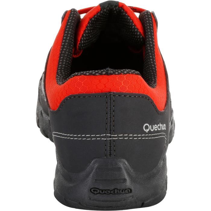 Chaussures de randonnée enfant NH100 imperméables Bleu Corail - 1125359
