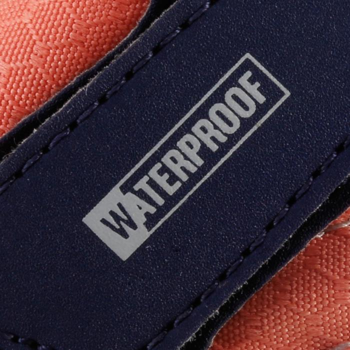 Chaussures de randonnée enfant NH100 imperméables Bleu Corail - 1125360